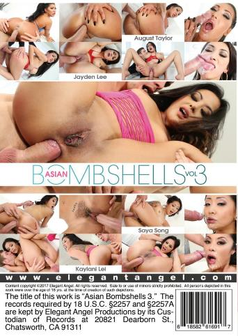 Asian Bombshells 3 from Elegant Angel back cover