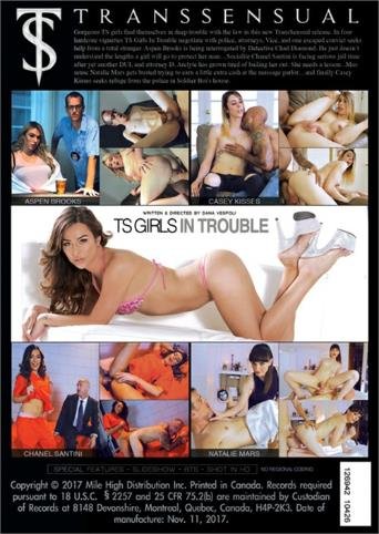 Ts Girls In Trouble from Transsensual back cover
