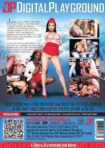 Fly Girls Final Payload from Digital Playground back cover