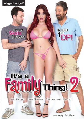 It's A Family Thing 2 from Elegant Angel front cover