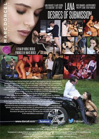 Lana Desires Of Submission from Marc Dorcel back cover