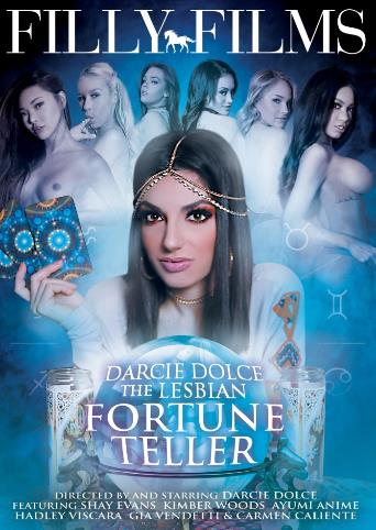 Darcie Dolce The Lesbian Fortune Teller from Filly Films front cover
