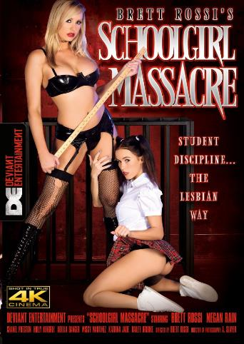 Brett Rossi's Schoolgirl Massacre from Metro front cover