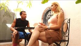 Interracial MILF Massage Scene 4