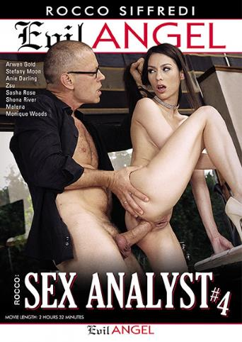Rocco Sex Analyst 4 from Evil Angel: Rocco Siffredi front cover