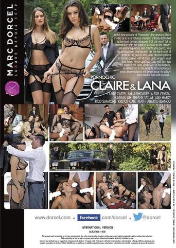Pornochic 28 Claire And Lana from Marc Dorcel back cover