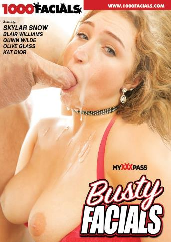 Busty Facials from 1000 Facials front cover
