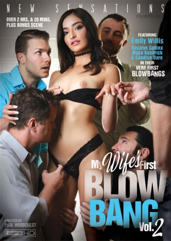 My Wife's First Blow Bang 2 from New Sensations front cover
