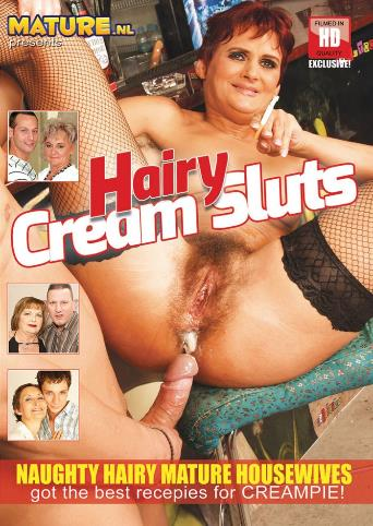 Hairy Cream Sluts from Mature front cover