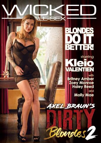Axel Braun's Dirty Blondes 2 from Wicked front cover