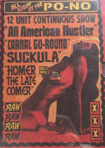 All American Hustler from Vinegar Syndrome front cover