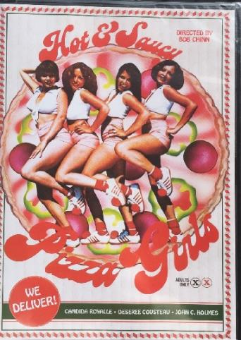 Hot And Saucy Pizza Girls from Vinegar Syndrome front cover