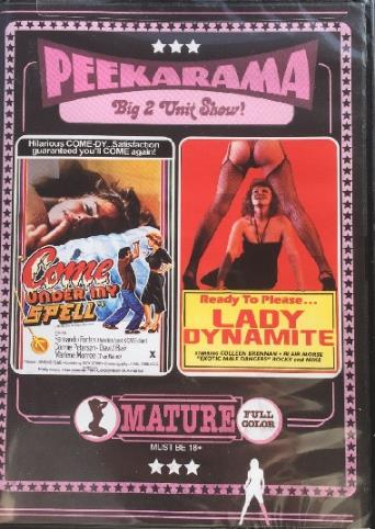 Lady Dynamite from Vinegar Syndrome front cover
